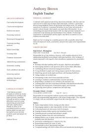 English Teacher Resume Template, Cv, Examples, Teaching, Academic intended  for English Teacher