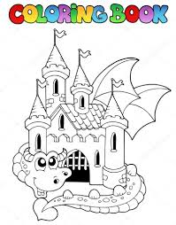 Depositphotos_7027393 Stock Illustration Coloring Book Castle And