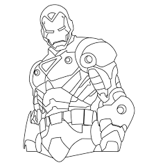 Tony stark uses a special armor created by himself with which he is known as ironman, and it is a weapon by itself full of electronic high technology devices by stark industries. Top 20 Free Printable Iron Man Coloring Pages Online