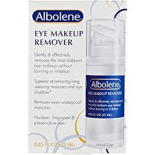 albolene eye makeup remover
