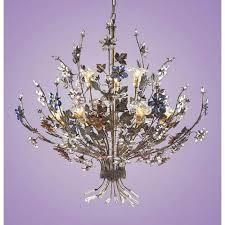 unique chandelier lighting. brillare ninelight bronzed rust chandelier unique lighting n