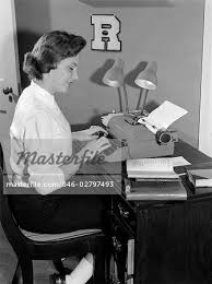student sitting at desk side view. Unique Sitting 1950s SIDE VIEW OF FEMALE COLLEGE STUDENT SITTING AT DESK TYPING PAPER  LOOKING BOOK BESIDE And Student Sitting At Desk Side View I
