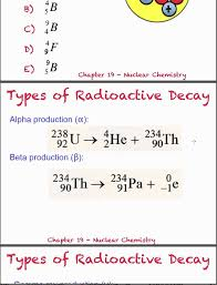 nuclear notation and equations