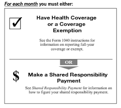 Types Of Coverage Exemptions Chart 2018 Instructions For Form 8965 2018 Internal Revenue