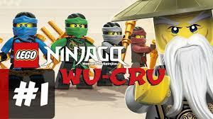 LEGO Ninjago WU CRU Android Gameplay Part 1 - Lego Android Series