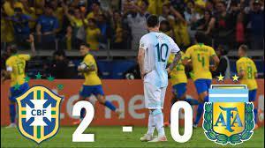 Brazil vs Argentina [2-0], Copa America Semi-Final, 2019 - MATCH REVIEW -  YouTube