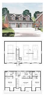 Garage Apartment Plan 30032 | Total Living Area: 887 sq. ft., 2 ...