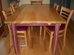 Tiger Maple Purpleheart Kitchen Table Woodworking Blog
