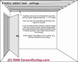 how to repair electric heat staged electric furnaces backup heat check radiant heat ceiling panels for wire interruptions if someone drove an nail into a