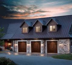 Garage Door garage door exterior trim photographs : Exterior door trim garage traditional with wood garage door stone ...