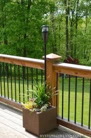 outdoor deck lighting ideas. outdoor living space essentials railing ideasdeck deck lighting ideas
