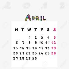 2015 monthly calendar calendar 2015 graphic illustration of april monthly calendar