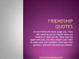 Friendship Quotes Delectable Quotes On Wah A True Friend Is