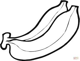 Small Picture Bunch of bananas coloring page Free Printable Coloring Pages