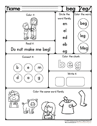 Word Patterns Enchanting Word Patterns Worksheets Larepubblica