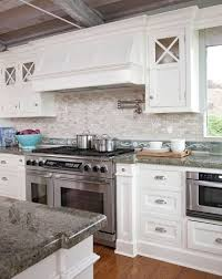 Coastal Kitchens With Ocean Blue Backsplash Tiles Httpwww Coastal Kitchen Backsplash Ideas