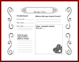 wedding guest book pages printable template i on free