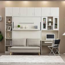shelf detached sofa queen vertical