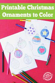 Printable christmas decorations download stunning free images. Printable Christmas Ornaments Free Kids Printable