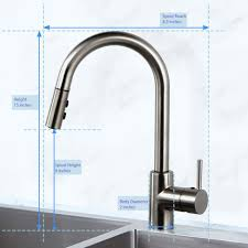 Touch kitchen faucets Rb Dst Modern Smart Touch Kitchen Faucet With Pull Down Sprayer Aosgya For Ideas Birtan Sogutma Modern Smart Touch Kitchen Faucet With Pull Down Sprayer Aosgya For