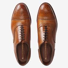 Walnut Shoes Size Chart Strand Cap Toe Lace Up Oxford Mens Dress Shoes By Allen Edmonds
