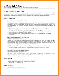Good Summary For Resume Inspiration How To Make A Summary For A Resume How To Make A Great Cover Letter
