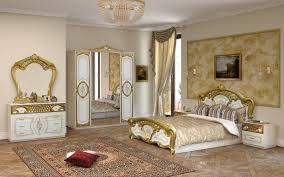 Schlafzimmer Rozza Walnuss Klassisch 160x200 Cm Barock Eur 1849
