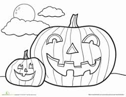 Small Picture Jack O Lantern Worksheet Educationcom