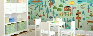 kids room wallpaper mural