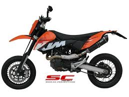 sc project exhaust for ktm 690 enduro