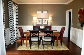 modern dining room in home ideas showing brilliant light