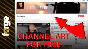 How to Make Youtube Channel Art for FREE in 2017 - YouTube