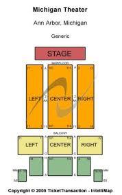 Michigan Theater Seating Chart Michigan Theater Tickets And Michigan Theater Seating Chart