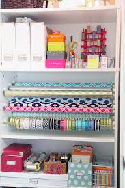 gift wrap storage ideas 1