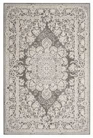 safavieh reflection rft664b light grey cream rug traditional area rugs by area rugs world