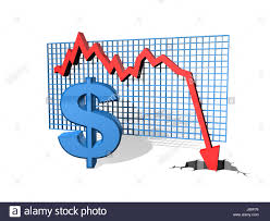 Dollar Dollars Chart Currency Performance Arrow Graph