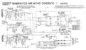 fender amp field guide contents ab763 schematic