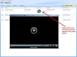 Sharepoint 2010 Library Template Sharepoint Video Library Template Available For Download