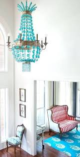 turquoise chandelier light teal ceiling light shades
