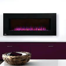 large image for napoleon 42 linear wall mount electric fireplace reviews azure inch efls