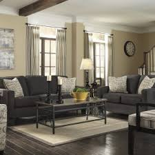 Contemporary gray living room furniture Simple Grey Splendid Midcentury Interior Design With Cool Modern Charcoal Grey Fabric Sofa Living Set Home Interior Decorating Ideas Poserpedia Splendid Midcentury Interior Design With Cool Modern Charcoal Grey