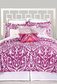 ikat purple king comforter set