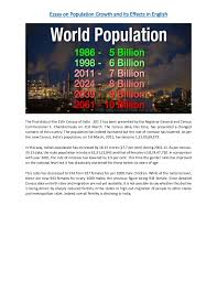 essay population growth its effects english thumbnail jpg cb