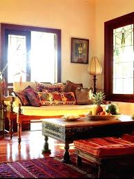 ethnic indian home decor ethnic living room interiors ornately tribal carved coffee table tribal carved round
