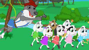 Truyện cổ Grimm Chó sói và bảy chú dê con – Truyện cổ tích