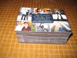 tara getting married save the date magnets are done  the finished magnets all 75 of them