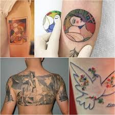 тату по мотивам картин шедевры живописи в тату Tattoo Ideasru