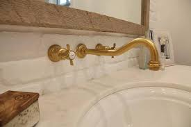 wall mounted vintage faucet traditional bathroom sage design