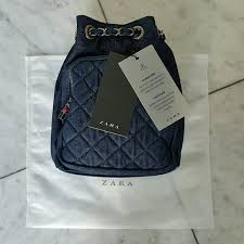 Zara - ZARA Mini Quilted Denim Backpack from Betty's closet on ... & ZARA Mini Quilted Denim Backpack Adamdwight.com