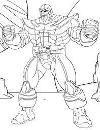 Thanos Ausmalbilder Malvorlagen Kostenlos Bilder Zum Nachmalen